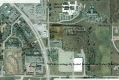 Assisted Living Parcel 1-A 1-B aerial